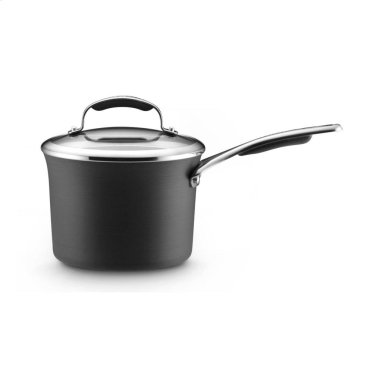 3 Quart Covered Saucepan Hard-Anodized, with Nonstick - Other