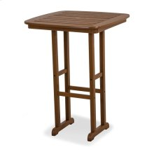 "Teak Nautical 31"" Bar Table"