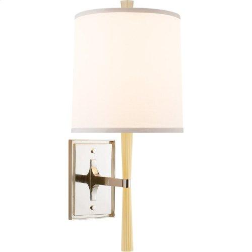 Visual Comfort BBL2036I-S Barbara Barry Refined Rib 1 Light 8 inch Ivory Ceramic Decorative Wall Light