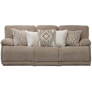 "Lay Flat Reclining Sofa (89\"")"