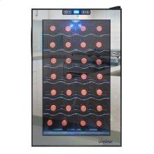 28-Bottle Mirrored Wine Cooler (Compressor)