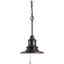 Broadcast - 1 Light Outdoor Pendant