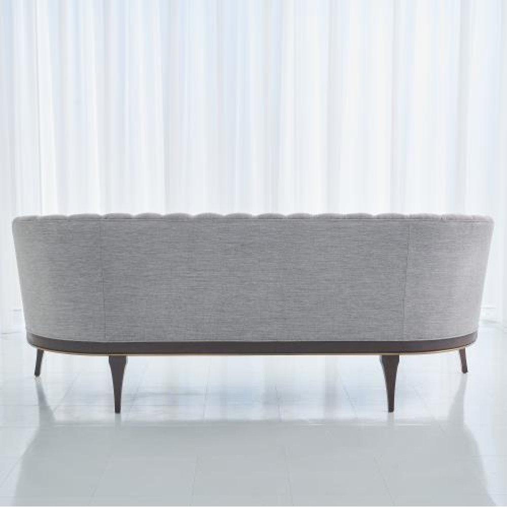 Channel Back Sofa-Silversmith