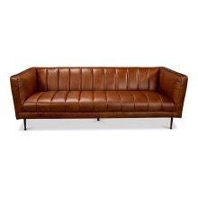 Lexington Sofa, Montaigne Brown Leather
