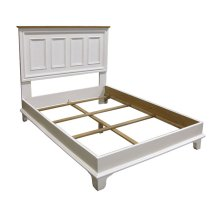 Paneled Platform Bed