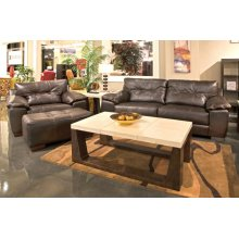 439603  Sofa, Loveseat and Chair - Chocolate