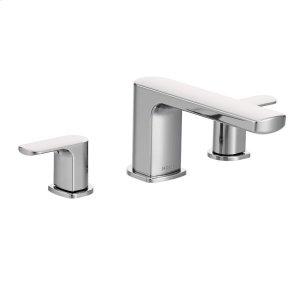 Rizon chrome two-handle roman tub faucet Product Image