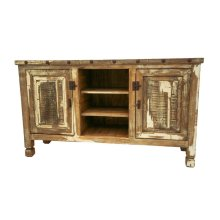 Antique White TV Stand