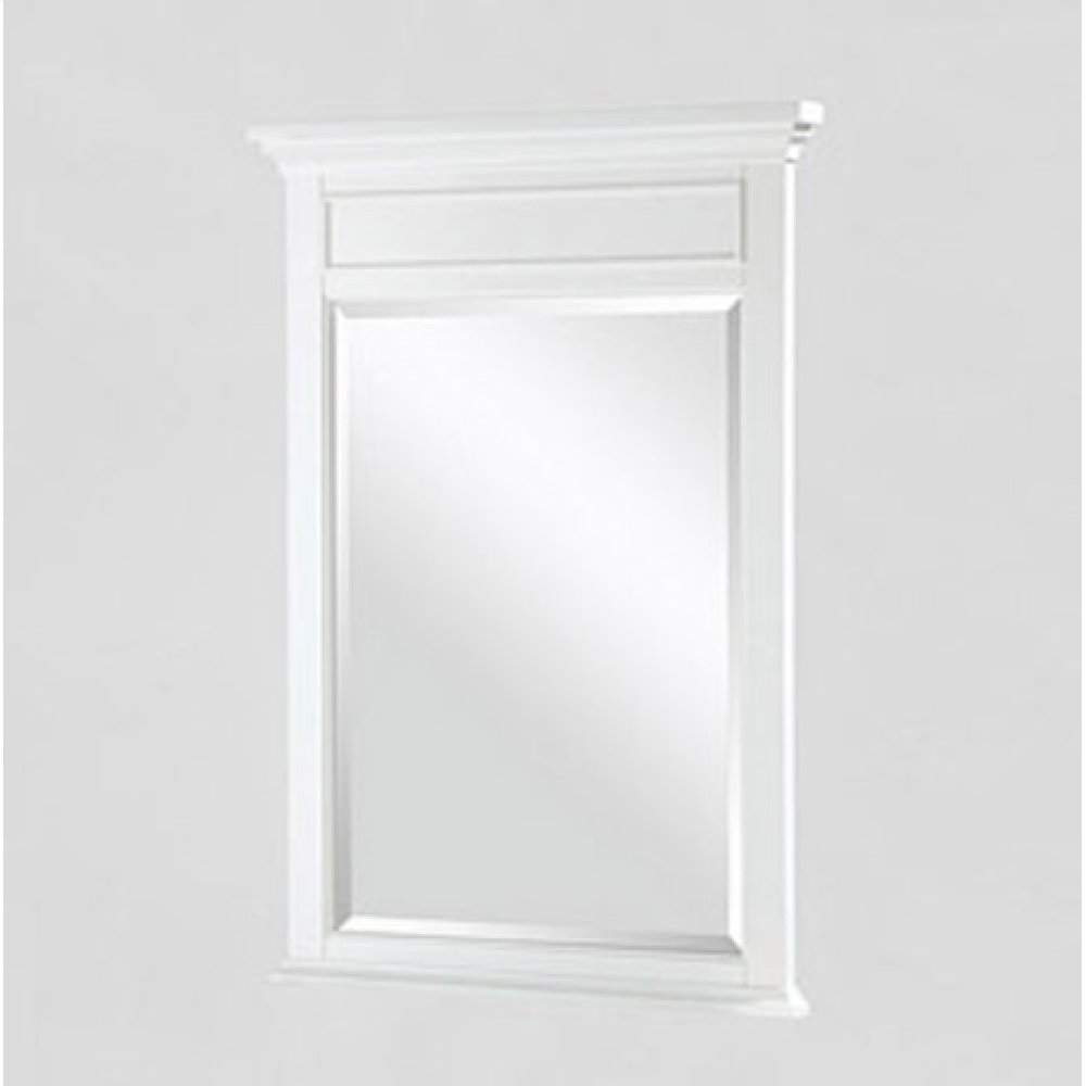 "Framingham 24"" Mirror - Polar White"