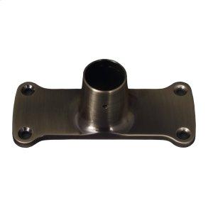 Jumbo Shower Rod Flange - Antique Brass Product Image