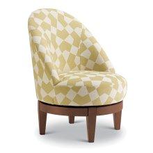 LOFLIN Swivel Barrel Chair