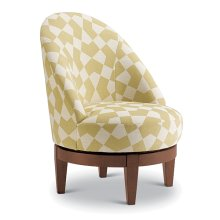 LOFLIN Swivel Barrel Chair