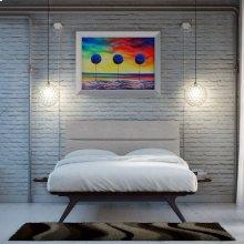 Addison 3 Piece Queen Bedroom Set in Black Gray