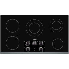 Electric Cooktop 500 Series 36 Inch Stainless Steel