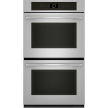 "Double Wall Oven with Upper MultiMode® Convection, 30"", Euro-Style Stainless Handle"