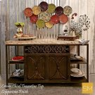 * Travertine Buffet Cabinet 1236 C Product Image