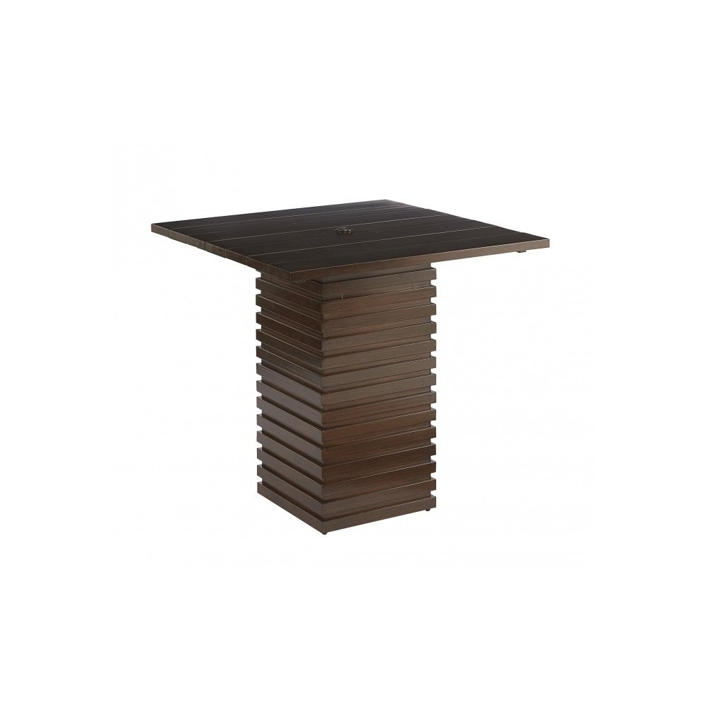 Epicenters Brentwood Outdoor Cypress Bar Table
