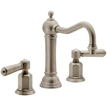 "8"" Widespread Lavatory Faucet with 2-1/4"" Diameter ZeroDrain®"