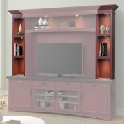 AMERICANA MODERN - CRANBERRY Hutch Piers Product Image