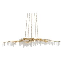 Forest Light Gold Chandelier