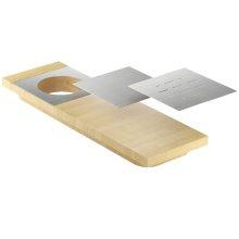 Presentation board 210073 - Maple Stainless steel sink accessory , Maple
