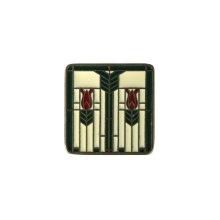 Prairie Tulips - Antique Brass/Evergreen
