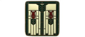 Prairie Tulips - Antique Brass/Evergreen Product Image