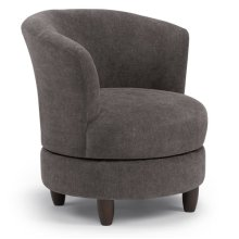 PALMONA Swivel Barrel Chair