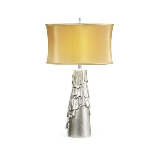 Antique Silver Table Lamp