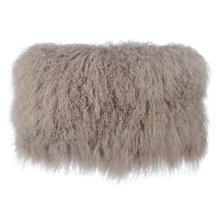 Tibetan Sheep Sandy Brown Long Pillow