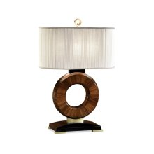 Porthole Rosewood Table Lamp
