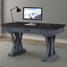 "AMERICANA MODERN - DENIM 56"" Power Lift Desk"