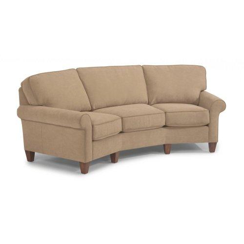 Westside Leather Conversation Sofa