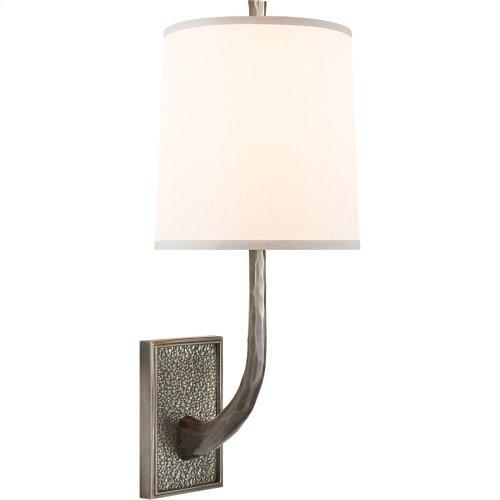 Visual Comfort BBL2030PWT-S Barbara Barry Lyric Branch 1 Light 8 inch Pewter Finish Decorative Wall Light