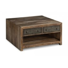 Fulton Square Coffee Table with Casters