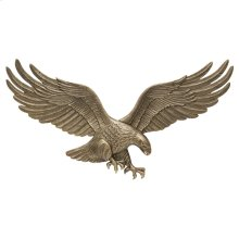 """29"""" Wall Eagle - Antique Brass"""