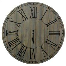 Natural Wood Clock  40in X 40in