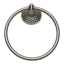 Mandalay Bath Towel Ring - Brushed Nickel