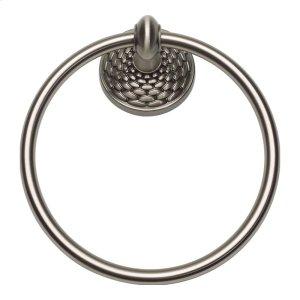 Mandalay Bath Towel Ring - Brushed Nickel Product Image