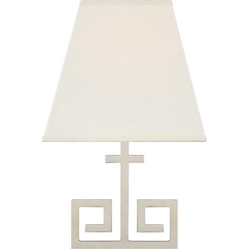 Visual Comfort AH2224PN-PL Alexa Hampton Kate 1 Light 7 inch Polished Nickel Wall Sconce Wall Light