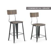 """Lincoln Bar Chair 20""""x19""""x46"""""""