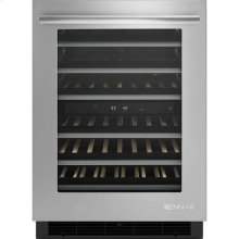 """24"""" Under Counter Wine Cellar, Euro-Style Stainless Handle"""