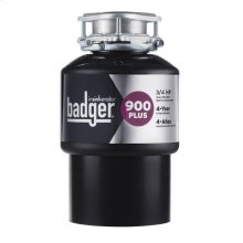 Badger 900 Plus Garbage Disposal, 3/4 HP