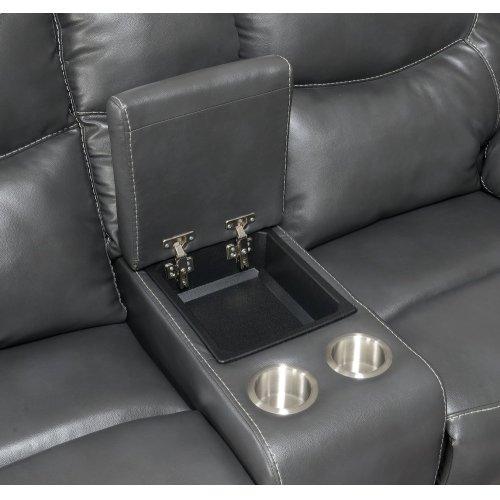 """Isabella Recliner Sofa Grey 90""""x37.4""""x42"""""""