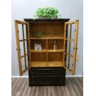 Stone Brown 2drw Bookcase Product Image