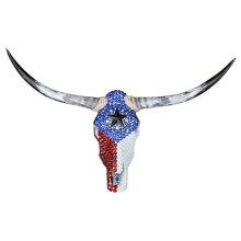 Texas Flag Jeweled Head