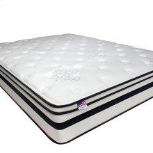 """Queen-Size Fairen 12"""" Euro Pillow Top Mattress [non-flip]"""