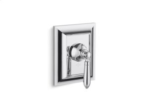 Thermostatic Trim, Classic Handle - Brushed Nickel Product Image