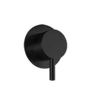 3 Way Diverter RND + Lever - Black Product Image