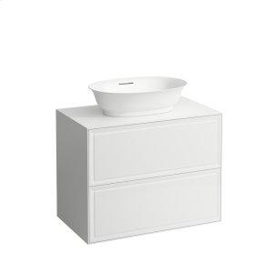 Traffic Grey Drawer element 800, 2 drawers, matches bowl washbasins 812852, 812853 Product Image
